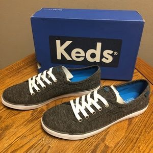 Keds Women's Coursa LTT Fashion Sneaker- Gray- NIB